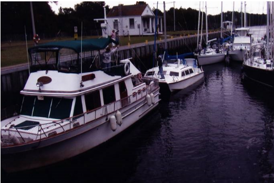 Boats in the Deep Creek Lock